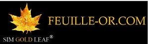 logo feuille d'or.